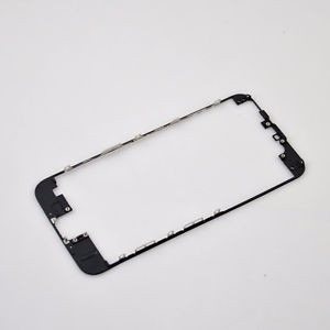 bisel marco medio chasis iphone 6 4,7 negro y blanco