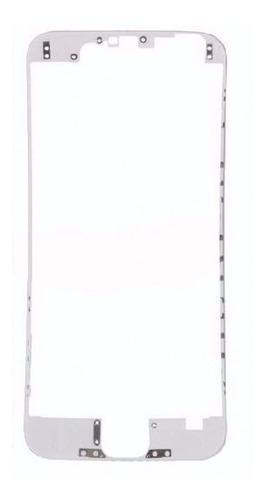 bisel marco medio chasis iphone 6 plus negro y blanco