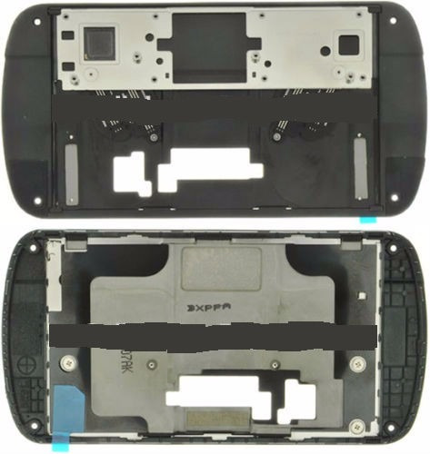 bisel medio sliding mechanism original samsung i405 verizon