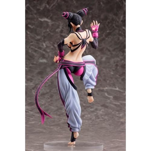 bishoujo statue street fighter - juri action figure