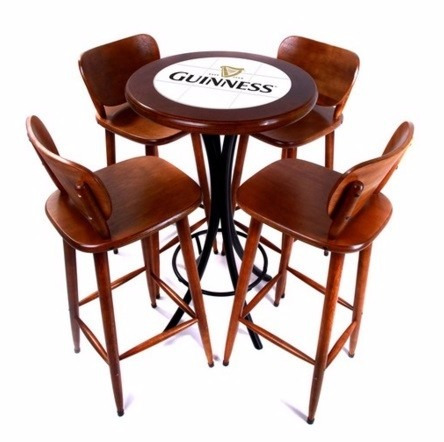 Bistro mesa alta banquetas brahma cervejas bar r 780 00 - Mesas altas de bar ...