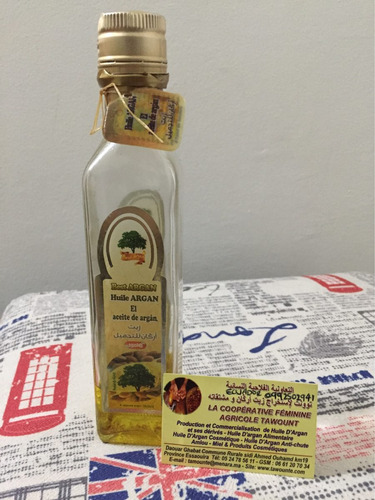 bisutería arabe  aceite de argan