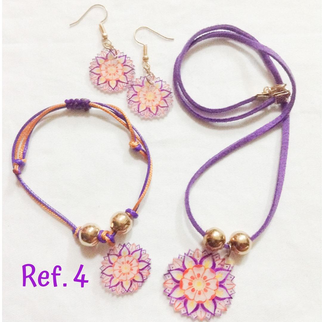 389c5340e17a bisuteria de moda -collares pulseras zarcillos con mandalas. Cargando zoom.