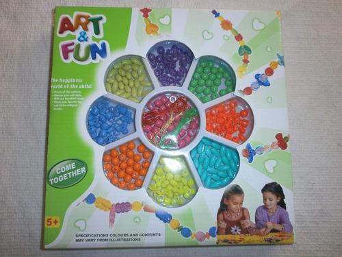 bisutería juego para elaborar art&fun flor