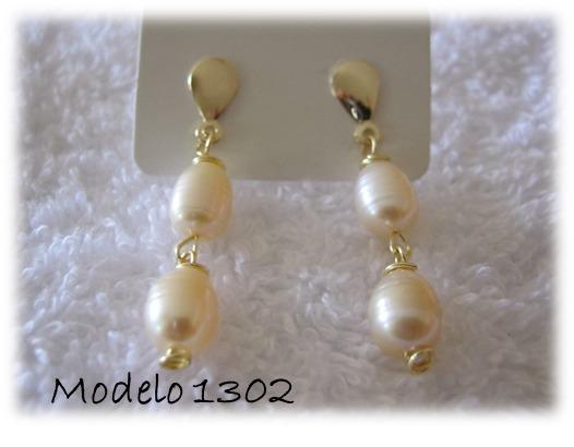 bisuteria zarcillos perlas