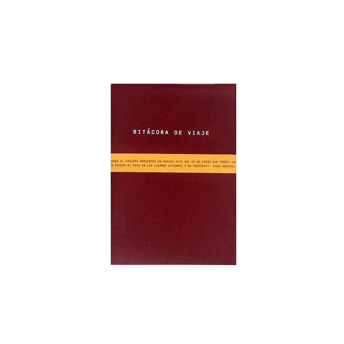 4ff289ad6 Bitácora De Viaje Roja - $ 8.890 en Mercado Libre