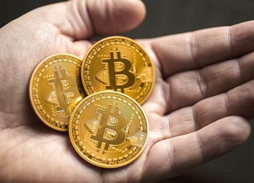bitcoin - moneda coleccionable dorada - envio gratis!!