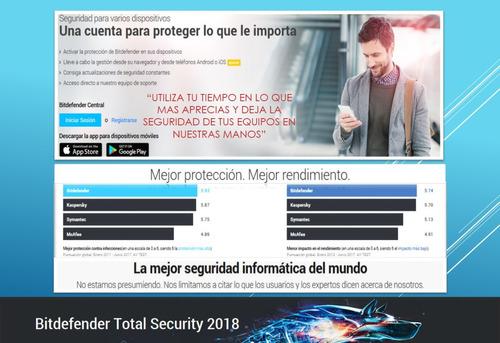 bitdefender 2019 total security versión en español