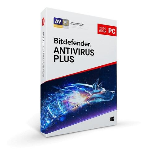 bitdefender antivirus plus 1 pc 2 años distribuidor oficial