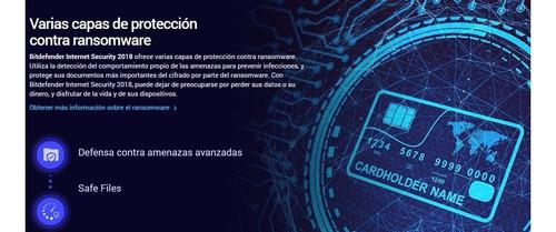 bitdefender internet security antivirus 5 pc 2 años oficial