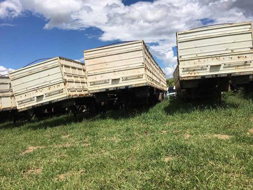 bitrem graneleiro s/pneus ano 07/07 preço $25.000,00