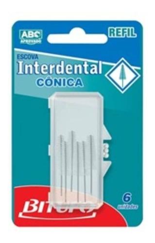 bitufo cônico refíl interdental c/6