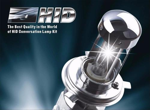 bixenon kit de luces alta gama h4