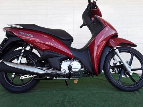 biz 125 flex 0-km 19/19 freios cbs painel completo, economic