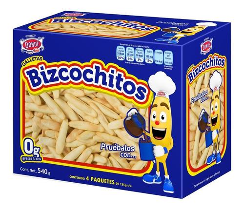bizcochitos 540g.- galletas dondé