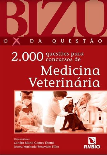bizu medicina veterinária 2000 questões para concurso thomé