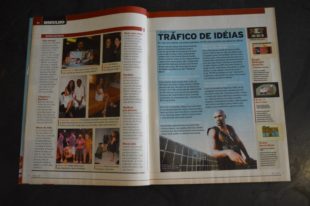 328718100f4 Bizz 197 Jack Johnson Revista - R$ 39,00 em Mercado Livre