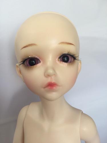 bjd normal  recast skin 1/6  doll   makeup