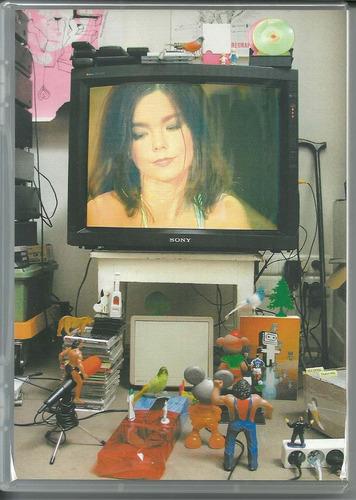 bjork - on mtv unplugged & live,  dvd novo lacrado, raro