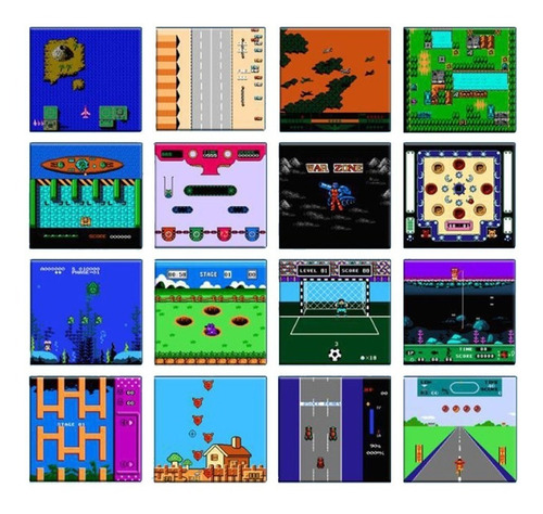 bl-883 8-bits consola de juegos de mano retro portátil