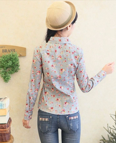 bl1165 camisera floral gris - it girls colombia