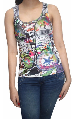 bl1206 blusa esqueleto con cristales, it girls colombia
