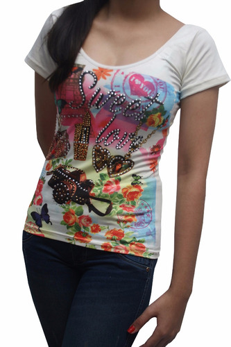 bl1207 blusa esqueleto con cristales, it girls colombia