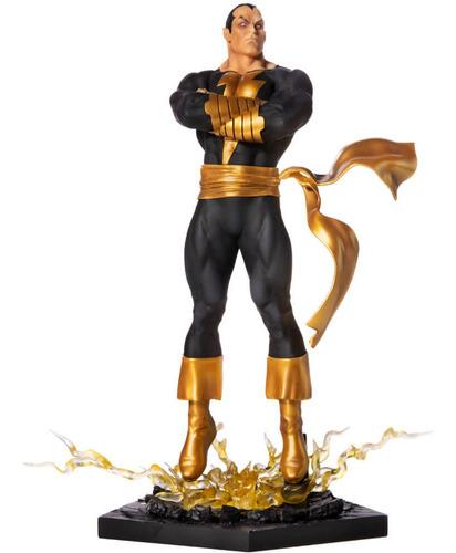 black adam - 1/10 scale - dc comics - iron studios