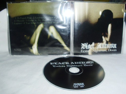 black autumn - ecstasy , nightmare, doom ( ambient doom alem