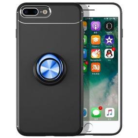 4c6a0659823 Black + Blue - For Apple Iphone 6s Plus - Imán 360 Rota-0648