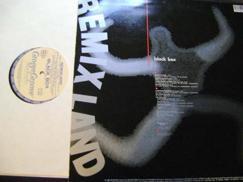black box - remixland - acetato importado-- italia-- dj