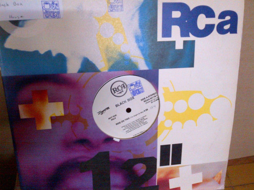 black box  - ride on time vinyl maxi