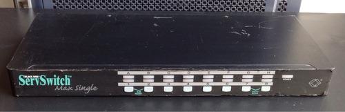 black box serv switch max single