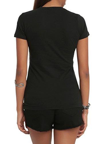 black butler los gatos son grandes camiseta de las muchacha