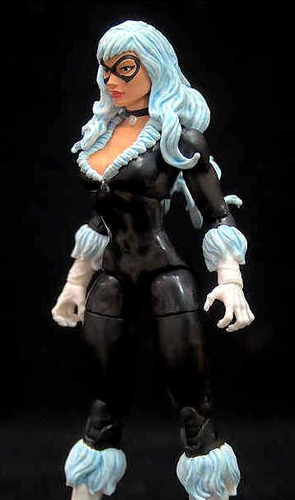 black cat gata negra marvel legends infinite serie spiderman
