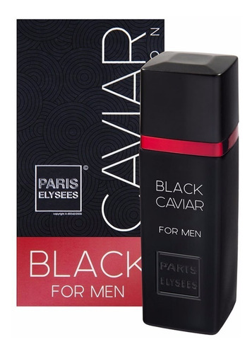 black caviar - masculino - edt 100 ml - paris elysees