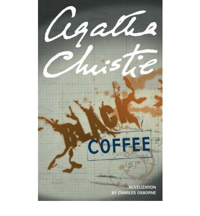 black coffee - agatha christie - harper collins - rincon 9