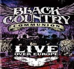 black country communion live over europe dvd x 2 nuevo
