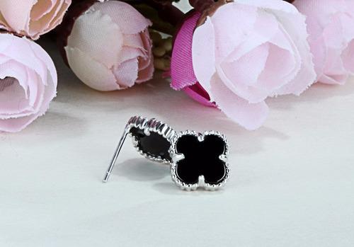 black cover earrings
