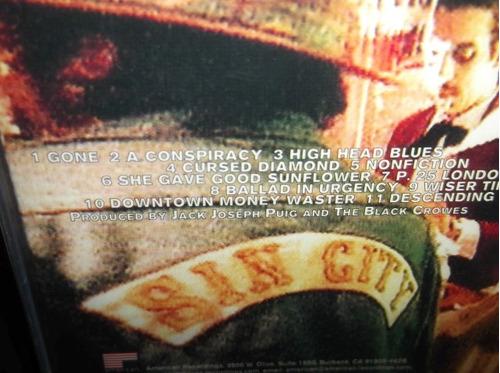 black crowes amorica cd importado sellado