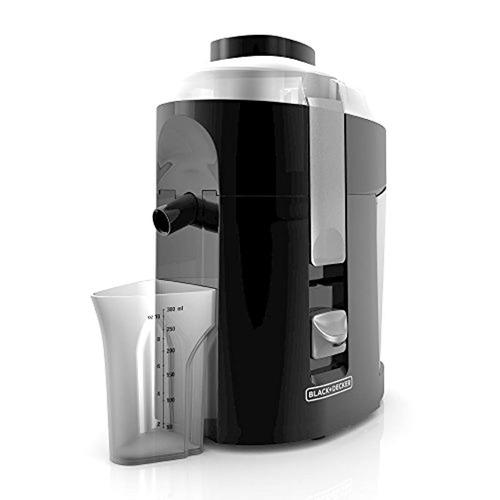 black+decker 400-watt fruit and vegetable juice extractor, b