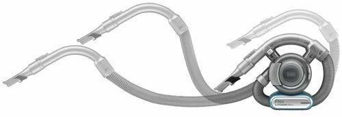 black+decker bdh1620flfh max. aspiradora flexible de liti
