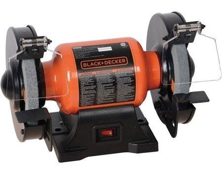 black & decker bg1500bd 1.8 amp 6 en. amoladora de banco