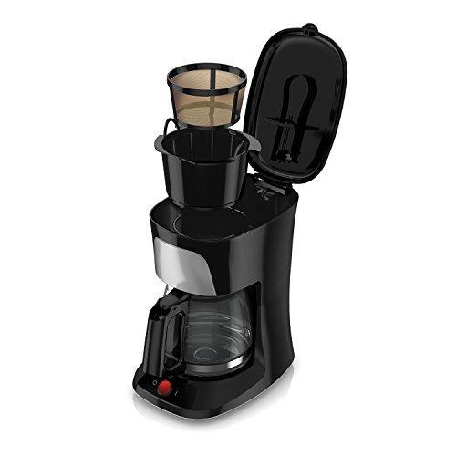 black decker cafetera de 5 tazas con jarra de vidrio duralif