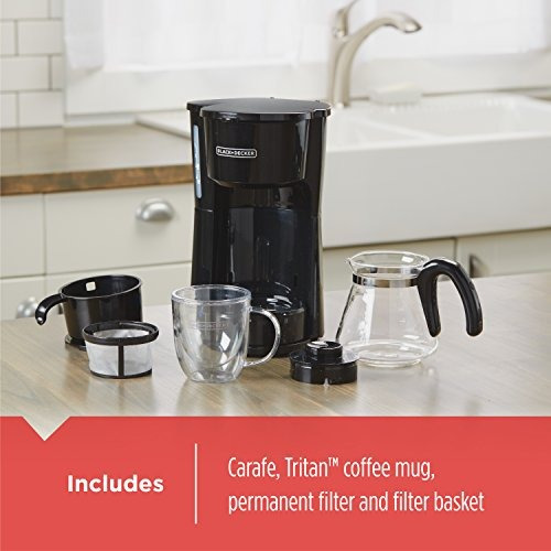 black + decker cm0755bz cafetera eléctrica 5 tazas