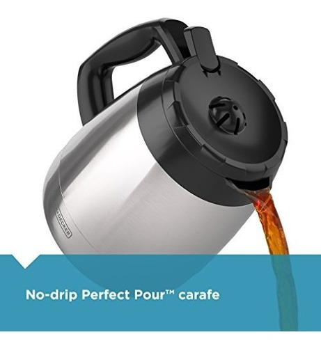black + decker cm2035b cafetera electrica digital 12 tazas