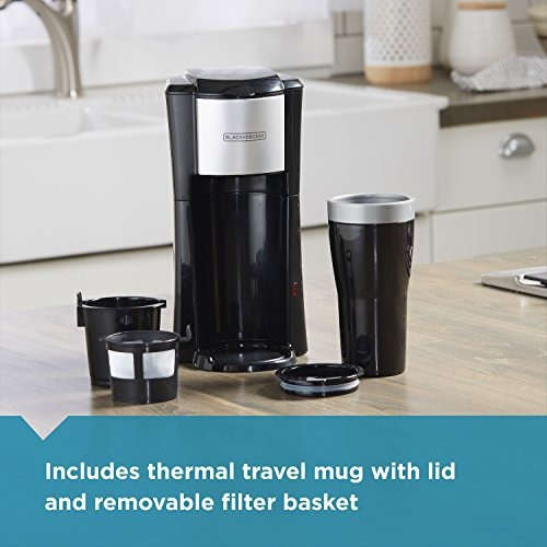 black + decker cm618 cafetera electrica personal 16 oz