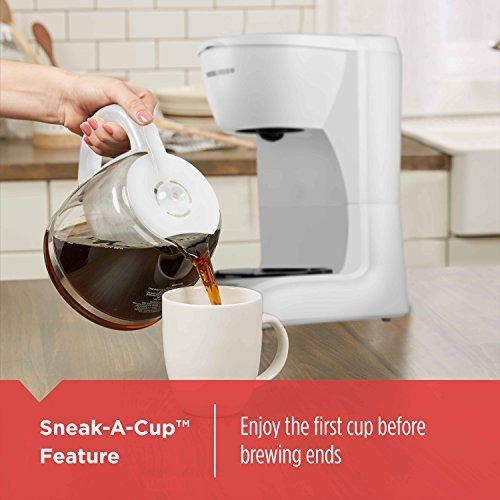 black & decker dlx105012-cup programable cafetera con jarra