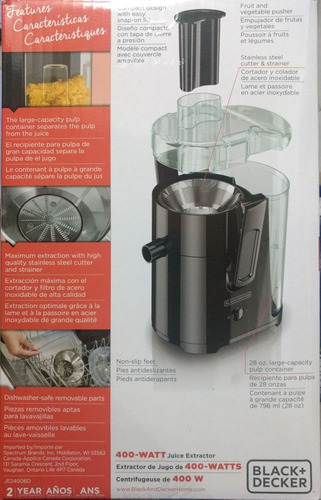 black decker extractor