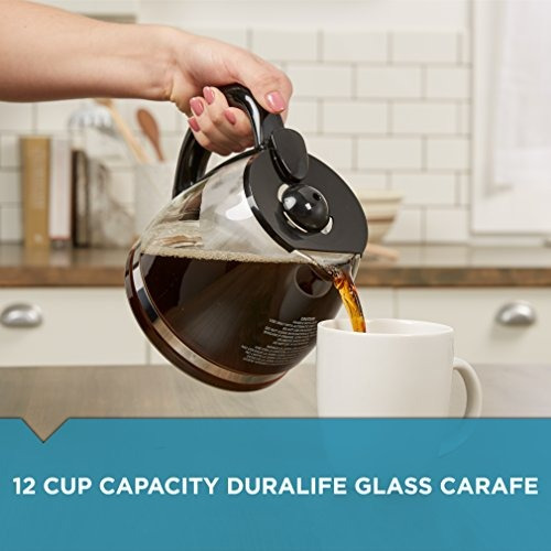 black & decker gc3000b 12-cup replacement carafe, black by b